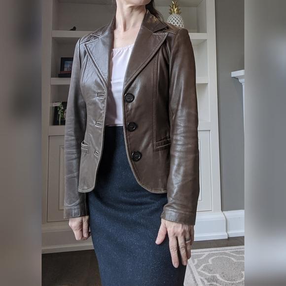 Vintage Danier 💯 leather jacket XS